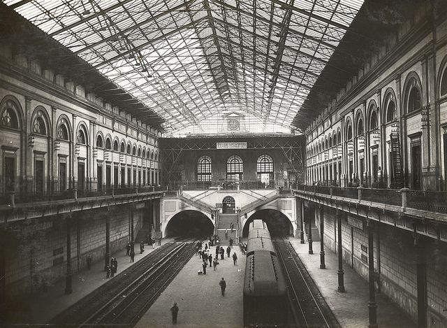 52 fantastiche immagini su stazioni ieri e oggi the - Orari treni milano centrale genova porta principe ...