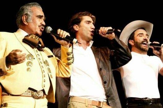 Vicente, Alejandro & Vicente Fernandez Jr