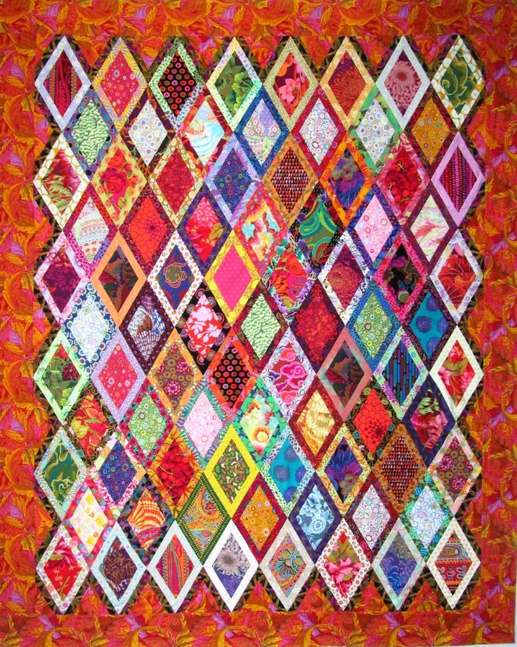Exuberant Color:  with a border...