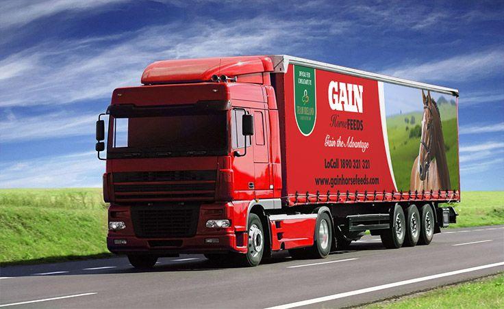 GAIN Feeds Glanbia Agribusiness - Truck Graphics