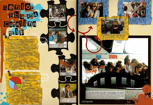 elemantary yearbook layout high school yearbook designs