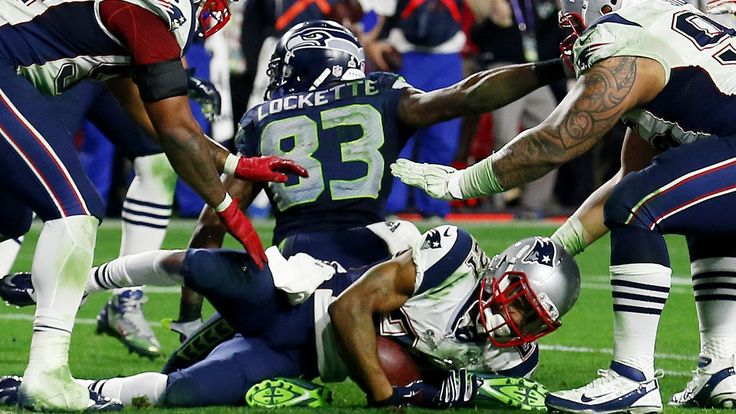 With 20 seconds left to play and Seattle on the 1-yard line, the Patriots' defense made a pivotal decision to try to force their opponents' hand. It worked.