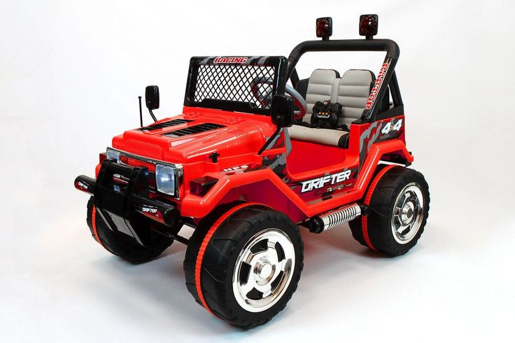 JEEP WRANGLER STYLE 12V KIDS RIDE-ON CAR MP3 BATTERY POWERED WHEELS RC REMOTE | RED