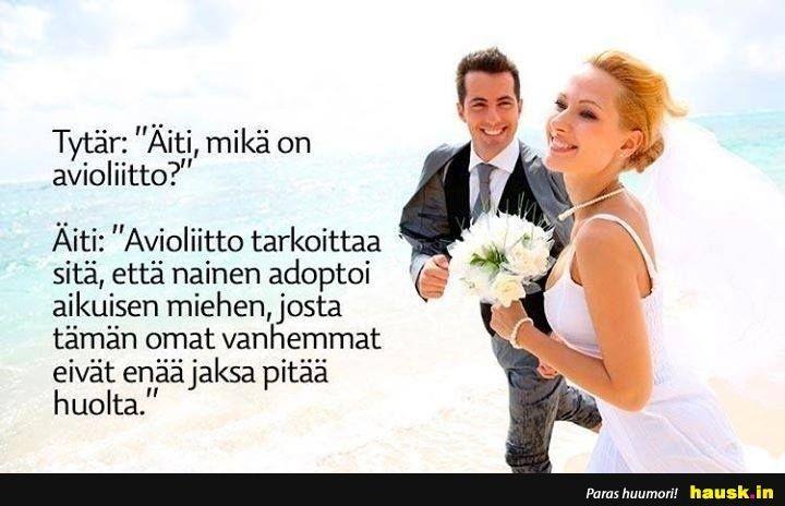 Avioliitto Huumori
