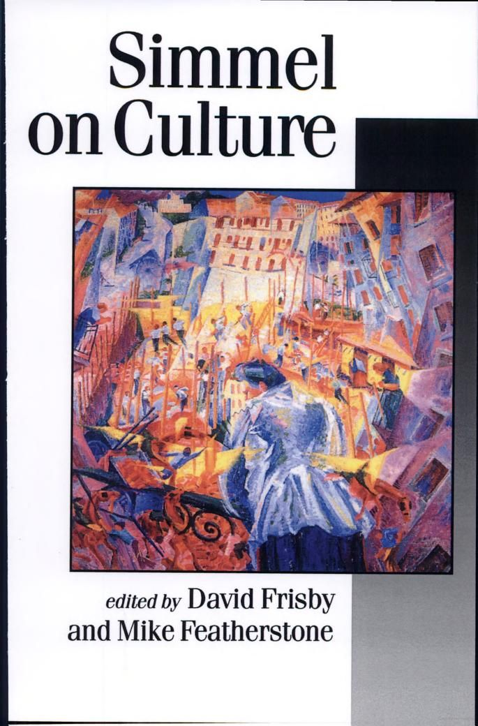 11 best simmel georg images on pinterest sociology philosophy simmel on culture selected writings published in association with theory culture society the philosophy of fashion fandeluxe Images
