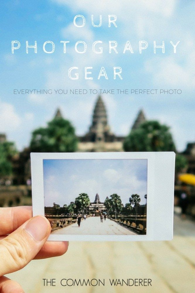 """Hands down the questions we're asked most on Instagram is """"what camera and lens do you use?"""".     So here is what's in our camera bag!  -  The best travel photography kit  -  All the gear you need to take the perfect travel photos"""