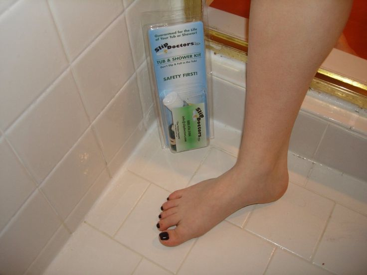 Bath Tub Kit Treatment  Non Slip Anti Skid Slippery Shower Room Tiles Floor  Grip