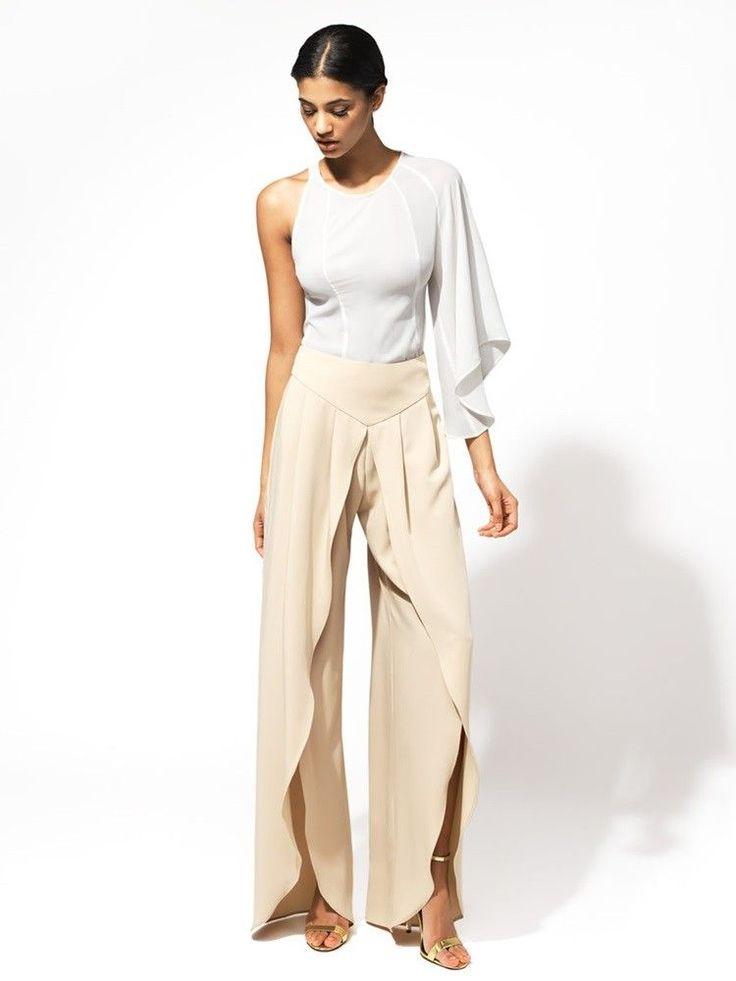 52 best Pantalones de fiesta images on Pinterest | Feminine fashion ...