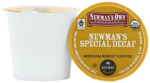 Green Mountain Coffee Newman's Special Decaf,  K-Cup Portion Pack for Keurig K-Cup Brewers, Certified Organic, 24-Count - http://thecoffeepod.biz/green-mountain-coffee-newmans-special-decaf-k-cup-portion-pack-for-keurig-k-cup-brewers-certified-organic-24-count/