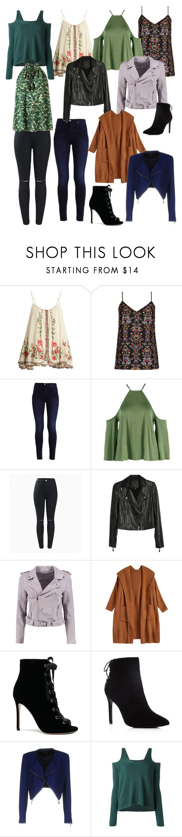 """""""Natalie P"""" by lilynnguyen on Polyvore featuring Mes Demoiselles..., City Chic, Boohoo, Paige Denim, Gianvito Rossi, Charles David, Pinko, MM6 Maison Margiela, Andrea Marques and plus size clothing"""