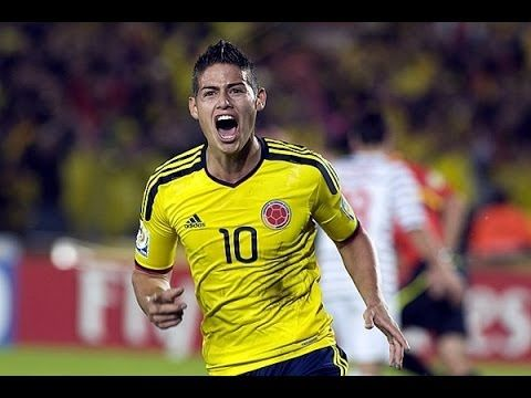 James Rodríguez Perfect Goal!!!! Colombia vs Uruguay 1-0!! The cutest asian guy excited for my team Colombia