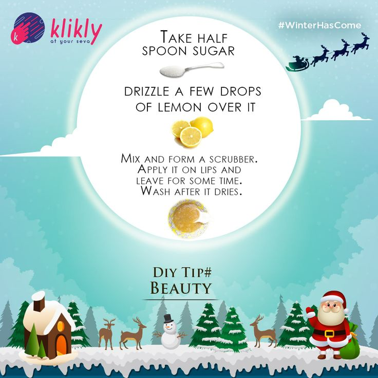 Don't let #winter steal your pretty #smile. Get rid of unwanted chaps and maintain softness on lips by applying this #scrubber at home.   @Klikly Now! #AtYourSeva