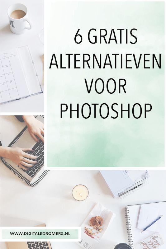 Wil je foto's bewerken en/of graphics ontwerpen, maar vind je Photoshop te duur? Hier zijn de 6 beste gratis alternatieven voor Photoshop.