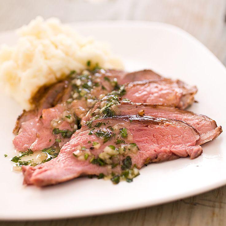 Roast Butterflied Leg of Lamb with Coriander, Cumin, and Mustard Seeds - America's Test Kitchen