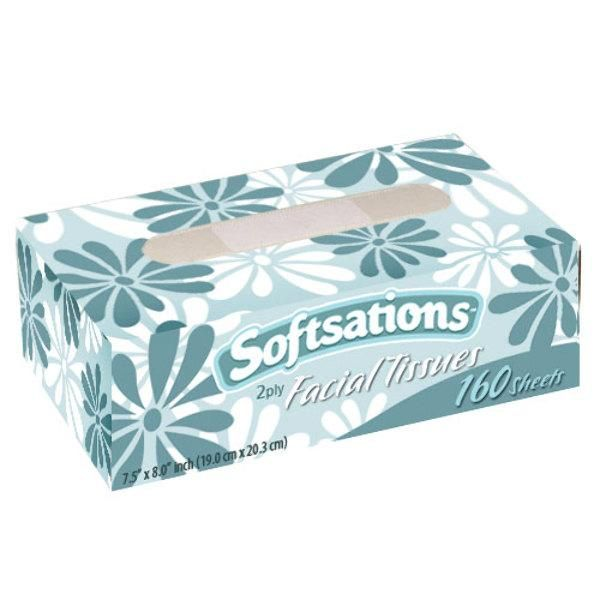 Facial Tissue Box 160 Sheets - Nicole Home Collection - 36 - Units