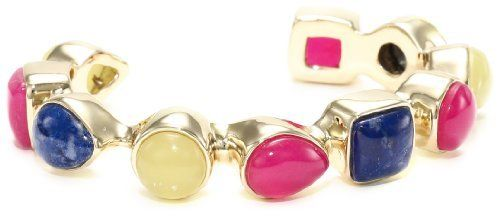 Isharya Gem Stones Multi-Bright Single Line Cuff Bracelet Isharya. $228.00. Items containing natural stones may have slight variances in size, shape and color. Made in Hong Kong