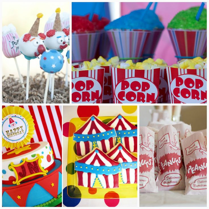 Sweet Sixteen Party Carnival Theme