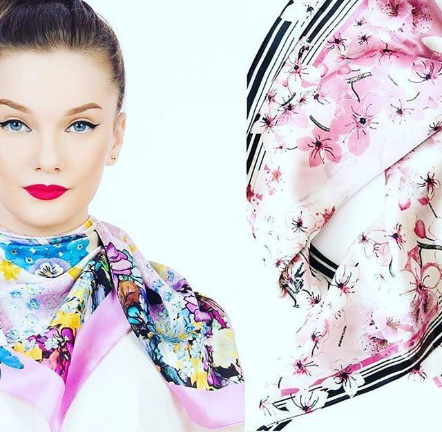 Think  #andreatincu #silkscarves #springvibes #lovefashion #mywork #fashiondesigner #style #inspiration #pink #nofilter