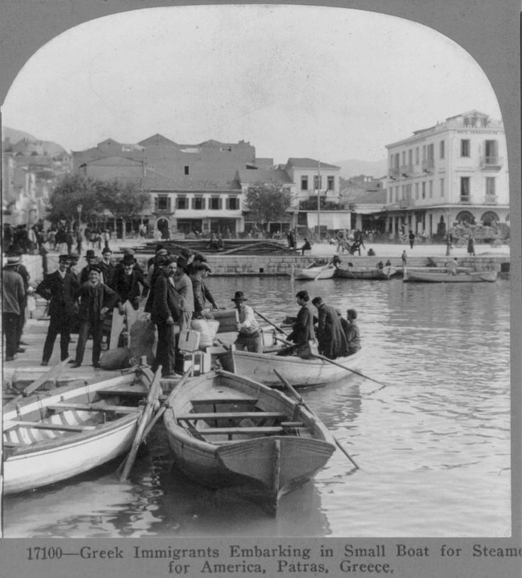 https://flic.kr/p/5Kkjx9 | immigrands to usa patras l910 | from collection stereocards in Library of congress