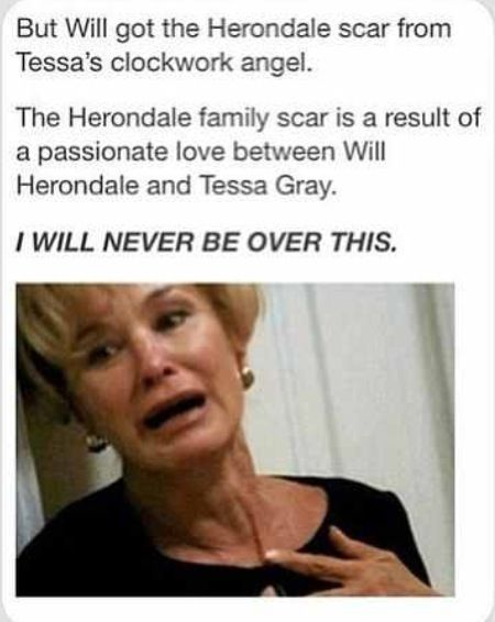 That's also means Without Without that scar Jace would be dead as Imogen Herondale would not have realised he is her grandson on Valentine's ship, thus not saving his life by blocking him from the demon because she would have thought him Valentines son.