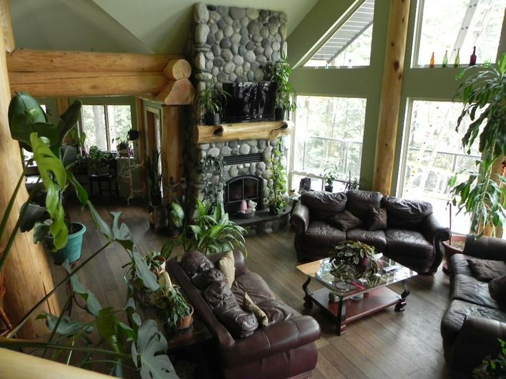 Interiors   Log Homes Canada