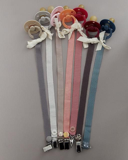 Sweet Paul's DIY Pacifier on a String - perfect handmade gift for a baby shower!