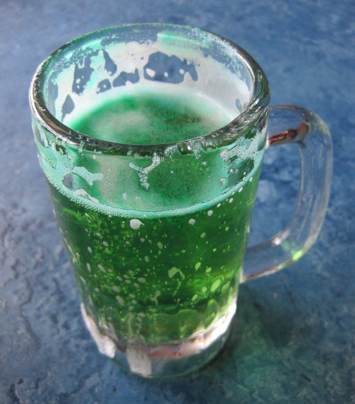 traditional green beer  Go out on st patties day an have at least one Can not believe ive never done this