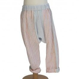 Harem pants in fine linen for boys. Great for holidays. £36