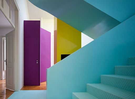 GMG House by Pedro Gadanho — colors