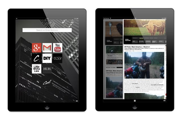 Opera releases Coast, an iPad browser that turns the web into a home screen