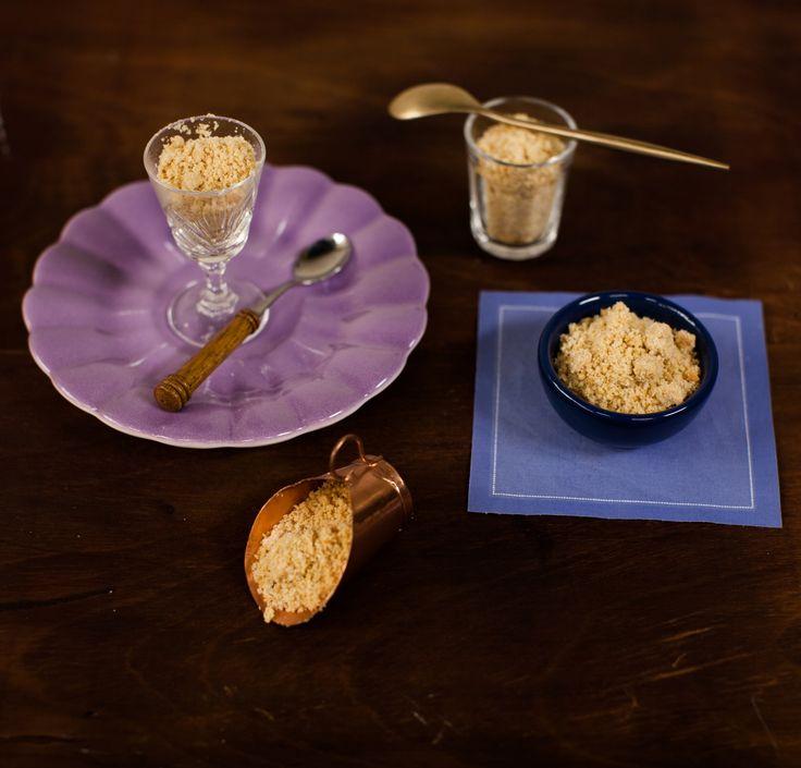 Festa do Amendoim: farofinha doce