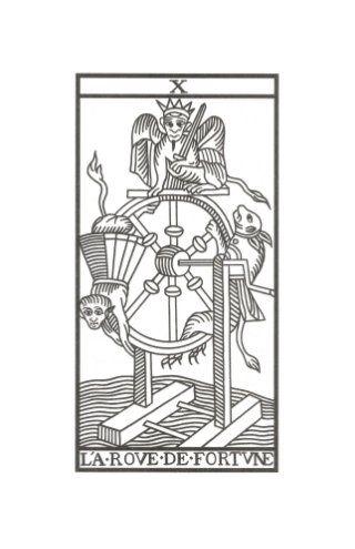 La Rueda de la Fortuna Tarot de Marsella de Jodowrosky
