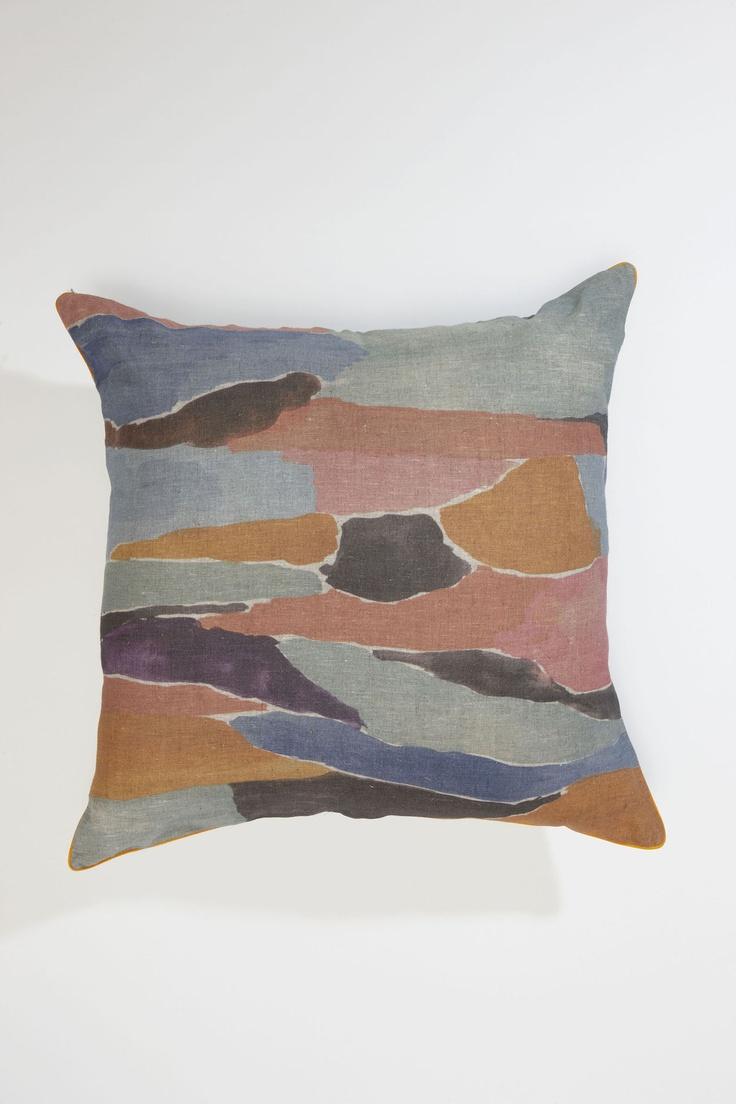 HOME « Blotch Large Cushion | Nancybird
