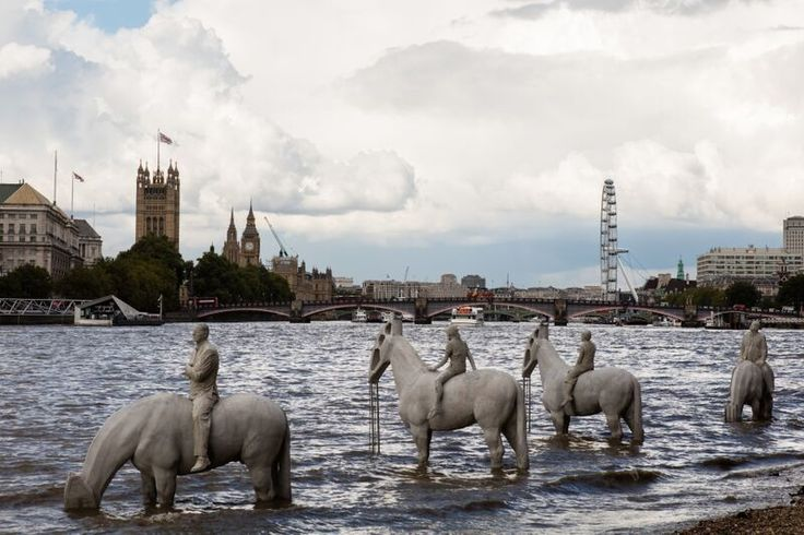 Four Horsemen of the Environmental Apocalypse Arrive in London | The Creators Project