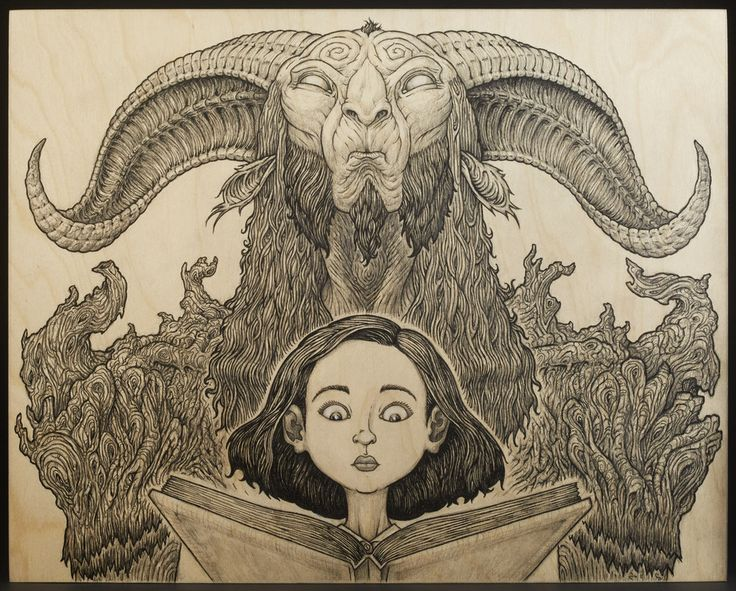 Pan's Labyrinth - David Igo - ''Ofelia and the Faun ...