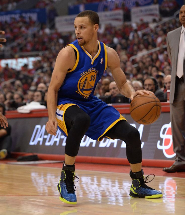 #SoleWatch // Stephen Curry in the new Under Armour ClutchFit Drive #UnderArmour #Warriors
