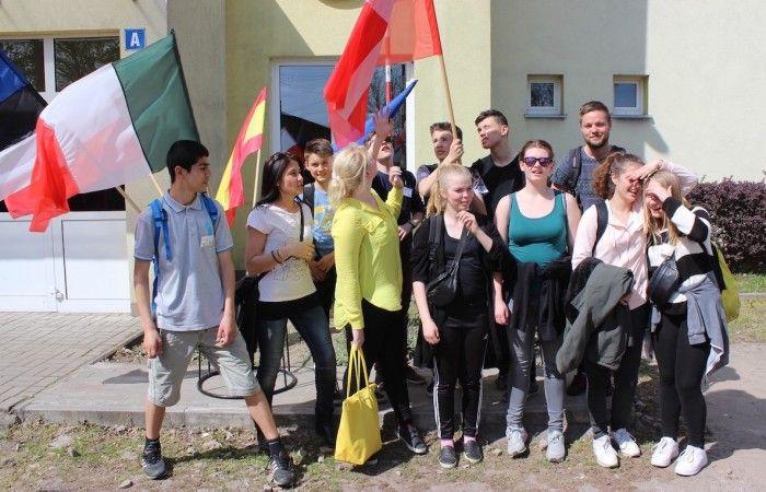 Młodzież i opiekunowie z Danii