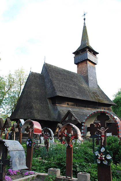 Ieud is considered the oldest wooden church in Maramureș,