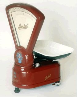 Antique Food Scales, Commercial Deli Meat Scale, Berkel Scales