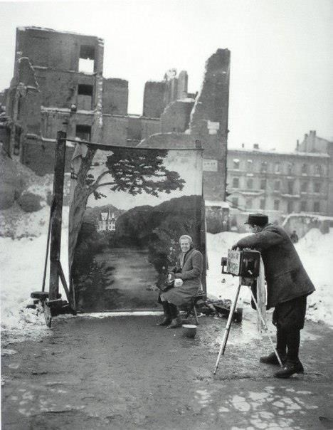 Warsaw, Poland, 1946