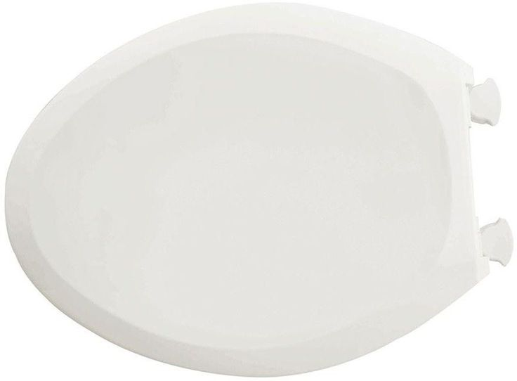 American Standard Slow Close Elongated Closed Front Toilet Seat In White #AmericanStandard
