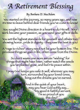 retired sayings | Affordable Inspirational Poem for Sister, birthday blessing gift