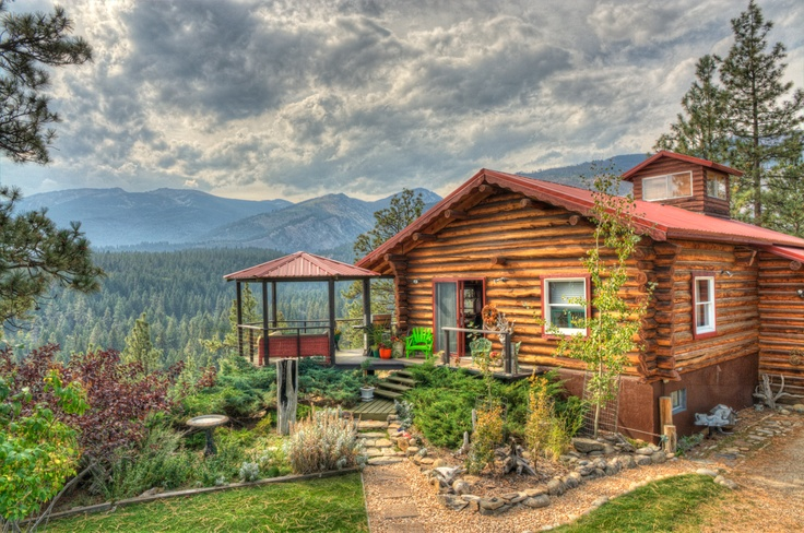 A Montana Log Cabin For Sale Http Www