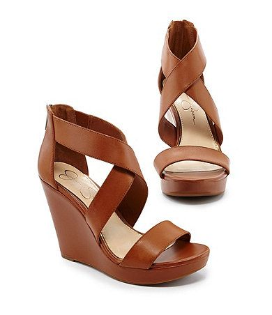 Jessica Simpson Jinxxi Wedge Sandals