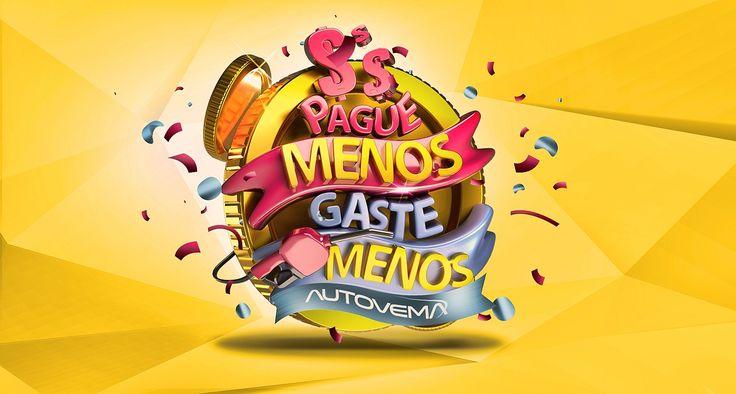 Direção de arte geral e selo 3d para campanha de varejo/promocional da Fiat Autovema.