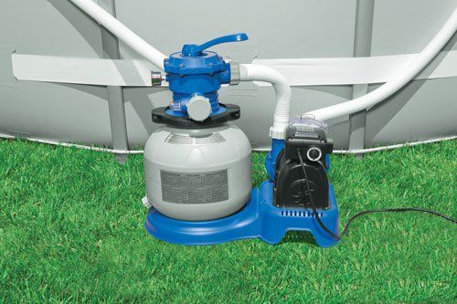 Intex Pool Sand Filter Pump With Gfci We Want A Pool
