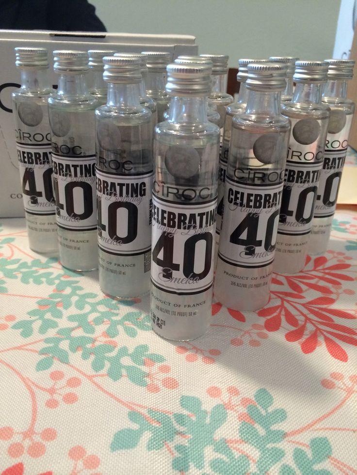 Could make cute easy labels to go with theme and tie them around all the stocked liquor bottles at the bar.