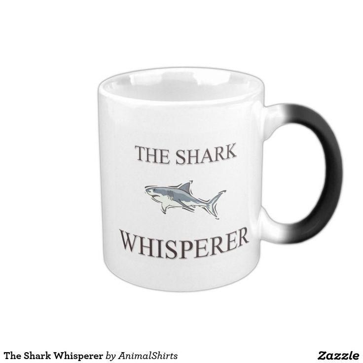 The Shark Whisperer 11 Oz Magic Heat Color-Changing Coffee Mug