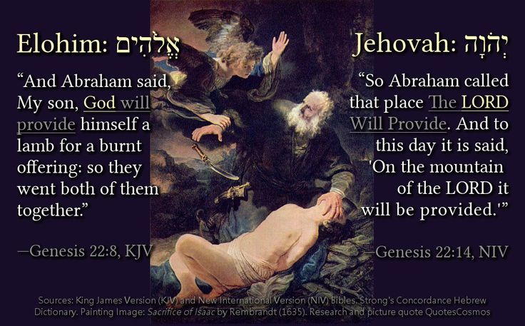 """""""So Abraham called that place The LORD Will Provide. And to this day it is said, 'On the mountain of the LORD it will be provided.'"""" — Genesis 22:14, NIV  This verse reassures us that God will give us what we need. The New International Version (NIV) of this verse says: """"So Abraham called that place The LORD Will Provide. And to this day it is said, 'On the mountain of the LORD it will be provided.'""""  Previous to this verse Abraham was commanded by God to sacrifice his only son Isaac as a…"""