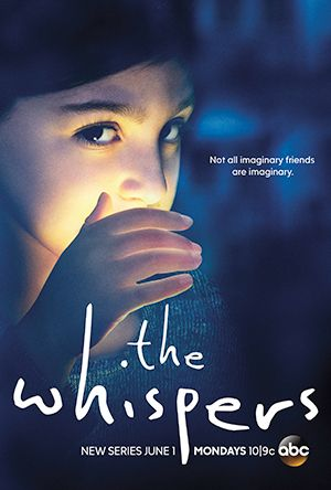 The Whispers (ABC-June 1, 2015) a mystery drama/sci-fi TV series created by Soo Hugh. Stars: Milo Ventimiglia, Barry Sloane, Lily Rabe. An unseen force is manipulating society's most innocent-our children-to act in favor of its cause. As the kids unwittingly help this unknown enemy, the clock counts down in this suspenseful race to save humanity.
